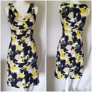 H & M Size 6 Multi Color sleeveless Stunning Dress